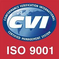 Darstellung des ISO 9001 Zertifikates