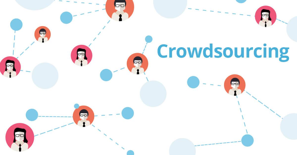 mpunkt Blogbeitragsgrafik Mindmap mit verschiedenen Personen als Netzwerk