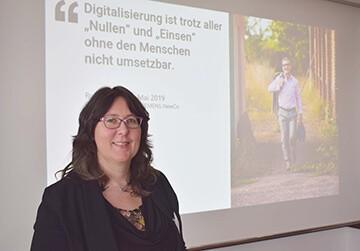 Digitalisierungsworkshop Dozentin Birthe Stuijts