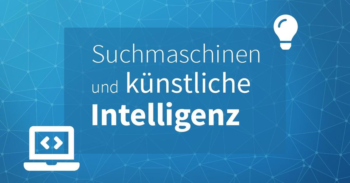 AI bei Suchmaschinen Blogbeitrag Headerbild